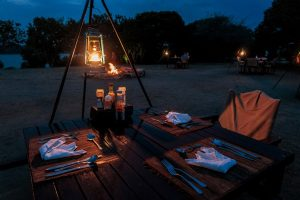 Romantic Dinner at The Bush Lodge